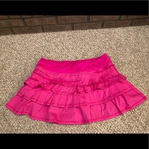Lululemon Run Back On Track Skirt Sz10